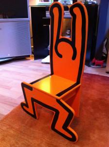 Netradiční jídelní židle