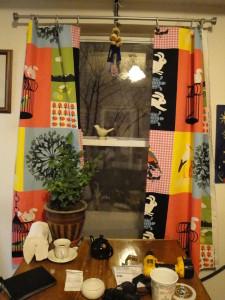 Barevné záclony do oken