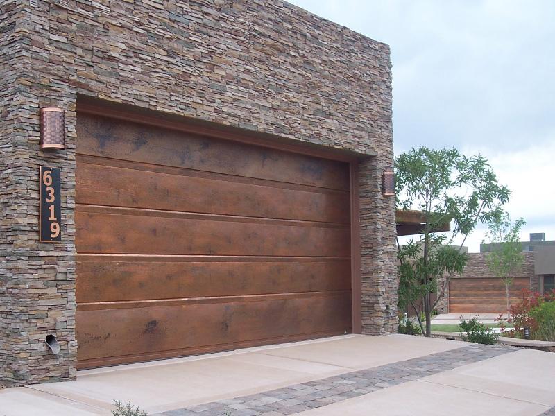 Stahovací garážová vrata